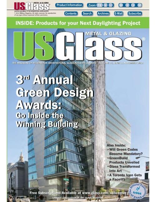 US Glass Nov. 2012
